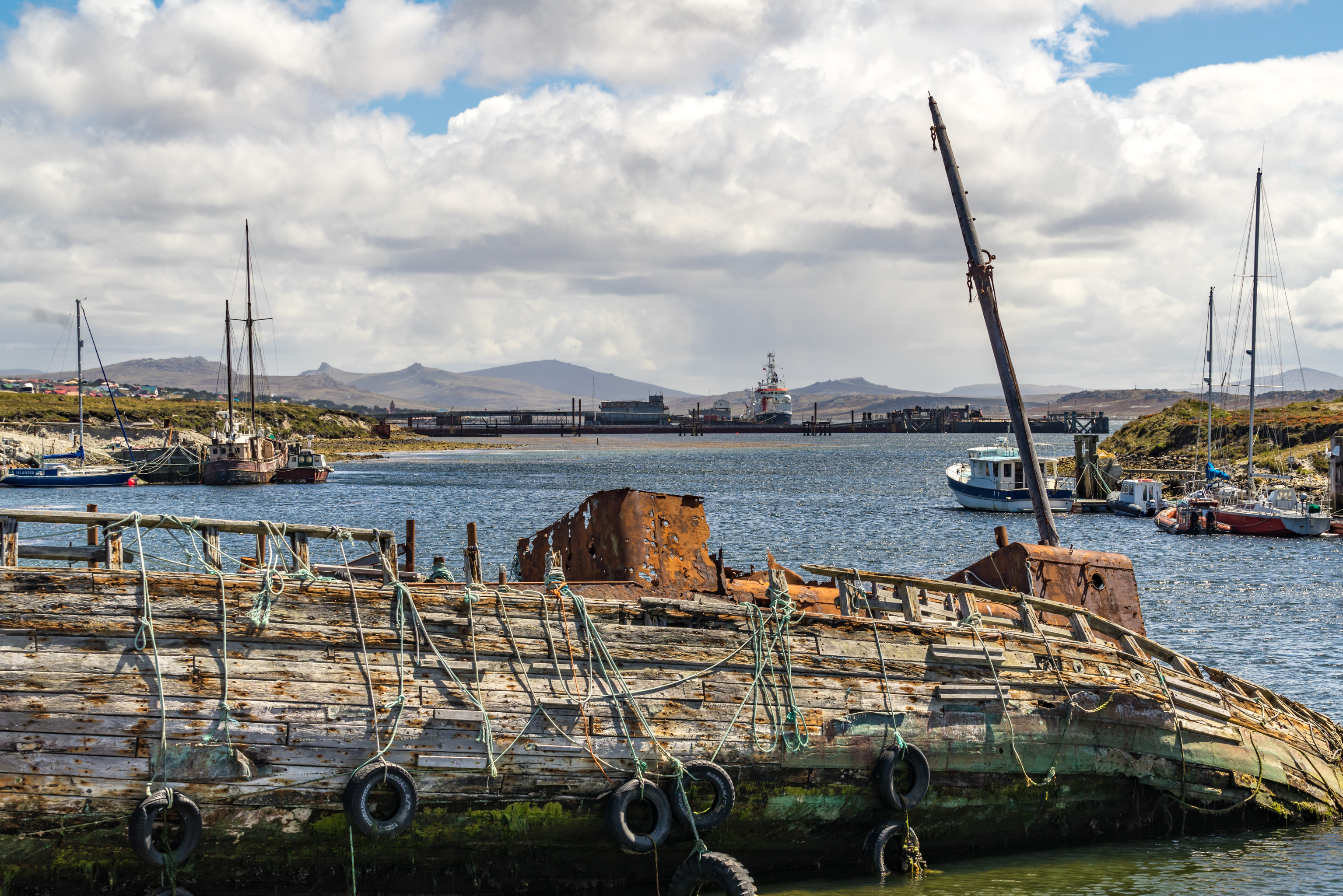 M133 & M134: Falklands - Port Stanley