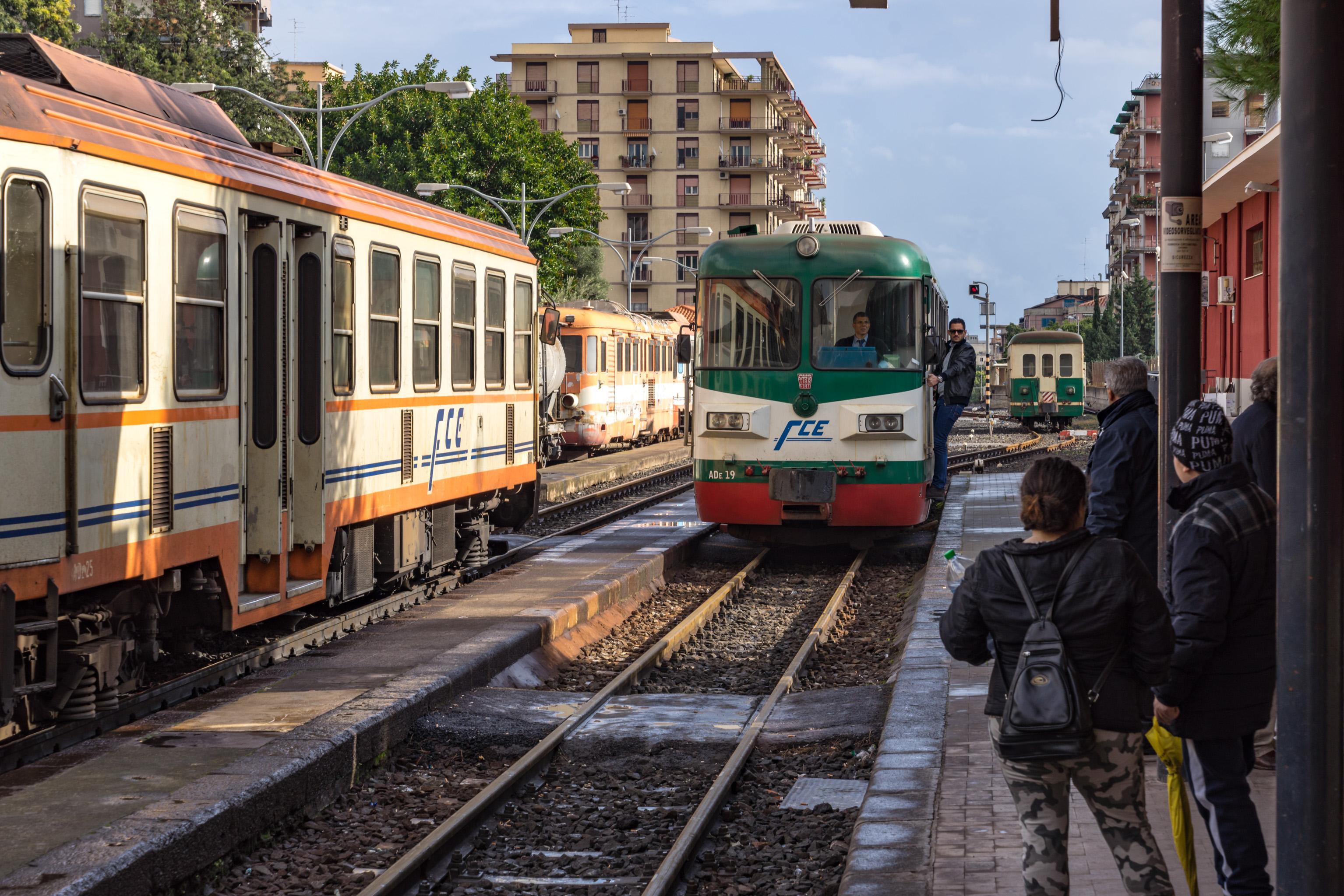 Italien: Catania - Ferrovia Circumetnea